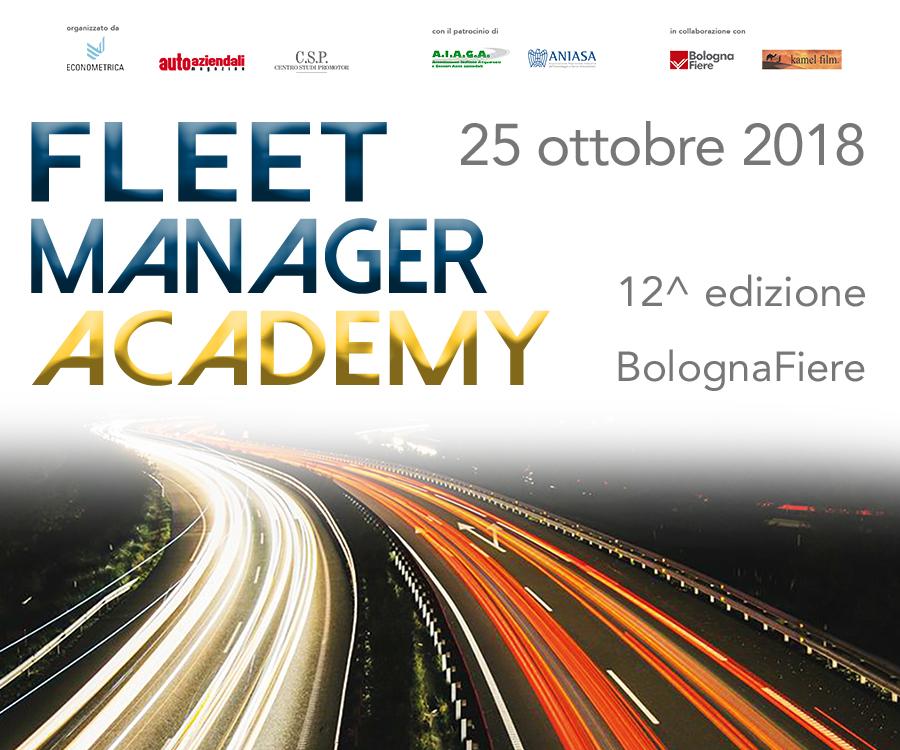Fleet Manager Academy 2018 - Bologna